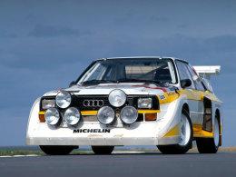 奥迪领头拉开WRC四驱经典时代传奇序幕