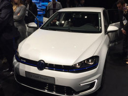 大众e-Golf Touch概念车于2016 CES发布
