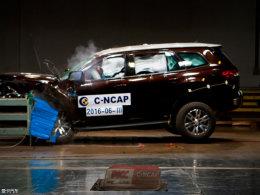 C-NCAP碰撞结果出炉 SUV车型成绩优秀