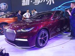 红旗B-Concept中级概念车北京车展发布