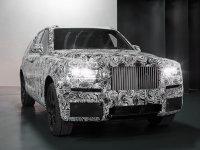 劳斯莱斯首款SUV量产版谍照 2018年发布