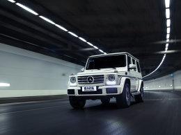 爱卡SUV专业测试 17款奔驰G500技高一筹