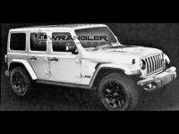 Jeep新一代牧马人效果图 就改了一点点