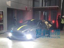 上海车展探馆:阿斯顿·马丁Rapide AMR