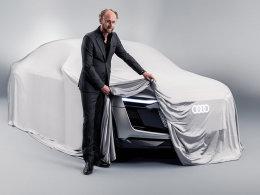 奥迪e-tron新概念车预告图 更有未来感