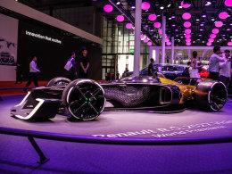 未来战士 实拍2027年雷诺RS F1概念赛车