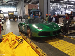 2017上海车展探馆:法拉利488 Spider