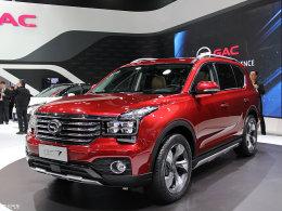 广汽传祺GS7将亮相上海车展 或6月上市