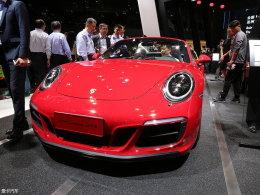 上海车展:保时捷新911 Targa 4 GTS亮相