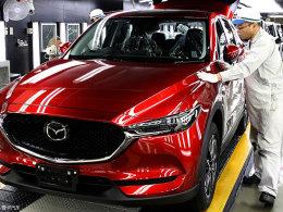 马自达全新CX-5有望8月上市 造型更犀利