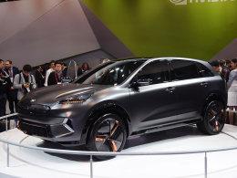 2018 CES展:起亚Niro EV概念汽车静评