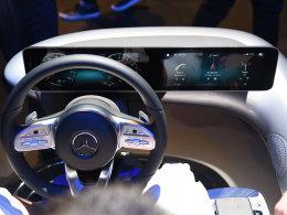 2018 CES展:奔驰推新一代触控交互系统