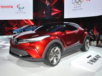 广汽丰田C-HR有望7月上市 北京车展首发