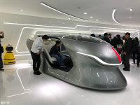 2018北京车展:红旗智能概念座舱亮相