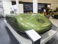 英国古董车博物馆 为破记录而生的MG EX