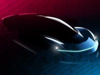 宾法超跑概念车预告图 最高车速400km/h