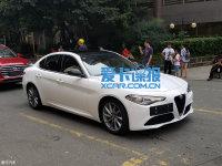 成都车展探馆:Giulia碳纤维限量版实车