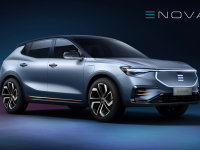 ENOVATE首款车型官图发布 将于11月首发