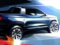 大众全新皮卡概念车预告图 11月6日首发