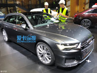 上海车展探馆:全新奥迪A6 Avant抢先看