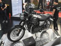 2019北京国际摩托展 川崎W800新车图集
