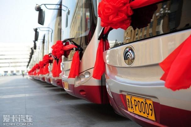 环保舒适的新能源公交精品